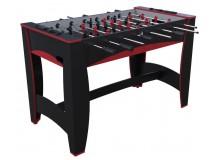 """Игровой стол — футбол """"Hit"""" (122x63.5x78.7 см, черно-красный)"""