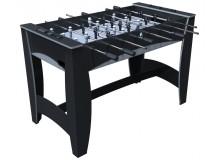 """Игровой стол — футбол """"Hit"""" (122x63.5x78.7 см, черно-серебристый)"""
